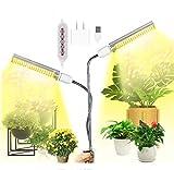 MFEI Luces de Cultivo LED para Plantas de Interior Full Spectrum 100W Lmpara de Cultivo de luz Solar Regulable, Mejorada y Mejorada 176 LED Lmpara de Crecimiento Profesional para plntulas
