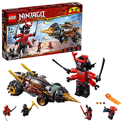 LEGO NINJAGO Legacy Cole's Earth Driller 70669 Building Kit (587 Pieces)