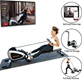 Fitness Reality 1000 Plus Bluetooth Magnetic Rower Rowing Machine with...