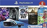 Sony PlayStation VR mega pack, Avec casque PS VR + PS Camera + 5 jeux...
