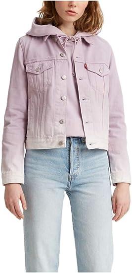 purple lavendel jeans jacket Levis sale
