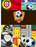 Porto Football Notebook: Blank Lined Journal For Europe, Portugal, Porto,...