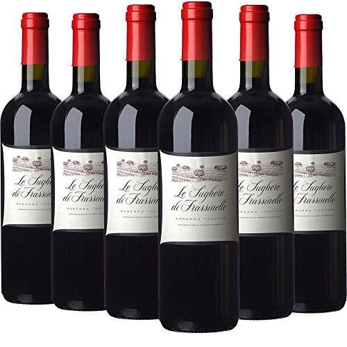 Rocca Di Frassinello Le Sughere Di Frassinello Vino Rosso - Cassa Da 6 Bottiglie - 4500 ml