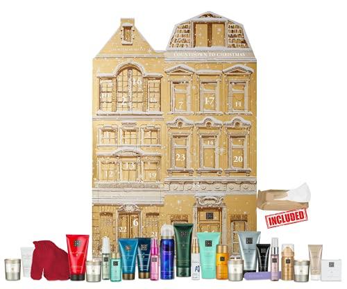 Nuevo exclusivo: RITUAL The Advent Ritual Exclusive Calendario de Adviento 2D, valor 250 €, calendario de belleza cosmética que contiene 24 productos de belleza para mujeres y hombres