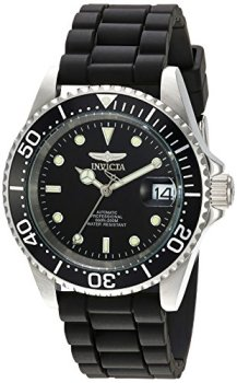 Men's Pro Diver Automatic Watch with Silicone Band