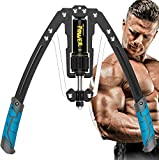 OBALY Twister Arm Exerciser - Adjustable 22-440lbs Hydraulic Power/Home Chest Expander/Shoulder Muscle Training Fitness Equipment/Arm Enhanced Exercise Strengthener (Blue)