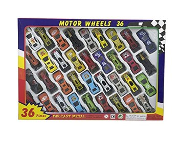 Ram© 36 Piece Die Cast Metal Toy Cars Diecast Mini Racing Cars Convertibles F1 Cars Childresn Play Cars