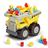 Tonka Tow and Go Large Dump Truck with Building Blocks