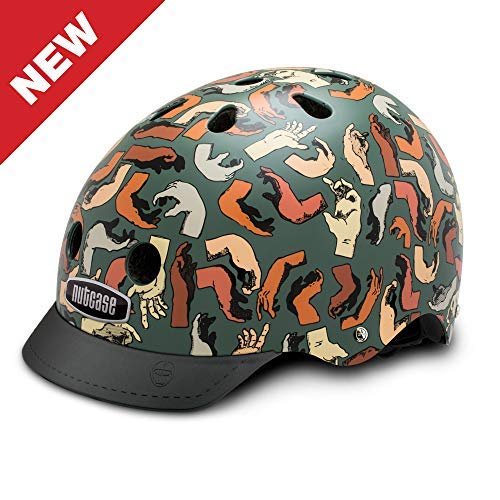 Nutcase - Patterned Street Bike Helmet for Adults