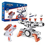 USA Toyz Astroshot Zero G Shooting Game - Nerf Compatible Floating Hovering Ball Targets for Shooting with 1 Foam Blaster Toy Gun, 10 Floating Ball Gun Targets, 12 Foam Darts, and 1 Foam Dart Holder