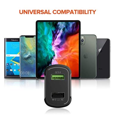 USB-Car-Charger-Adapter-Quick-Charge-30-Mini-Dual-USB-Car-Charger-54A30W-for-iPhone-XSMAXXRX876Plus-iPad-ProAirMini-Samsung-Galaxy-S10S9S8S7S6Note9Note8Nexusetc