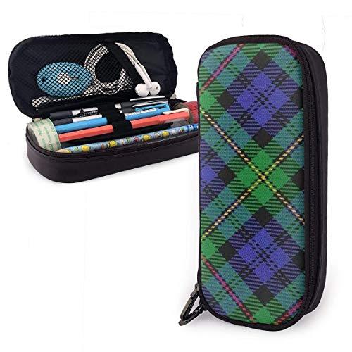 Astuccio Clan scozzese Macewen scozzese scozzese motivo a tema scuola portamatite marsupio custodia per ufficio penna...