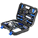 Maletín de Herramientas, 120 Caja Herramientas, General Household DIY Tool Kit with Tool Box Storage Case for House, Office, Dorm and Apartment por PROSTORMER