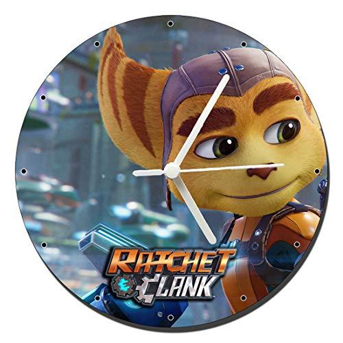MasTazas Ratchet & Clank Rift Apart Wanduhren Wall Clock 20cm