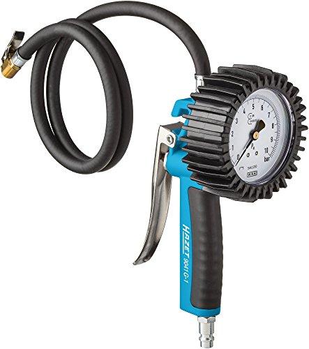 Hazet 9041G-1 Reifenfüll-Messgerät (geeicht, großes Manometer: 80 mm...