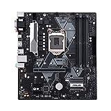Asus Intel B365, Motherboard, Prime B365M-A, Intel LGA-1151, mATX con Cabezal Aura Sync RGB, DDR4 a 2666MHz, Soporte M.2, HDMI, soporta Intel Optane Memory, SATA 6Gbps, USB 3.1 Gen 2