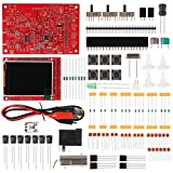 DSO 138 DIY Oscilloscope Kit Opening Source 2.4' TFT 1MSPS Digital Oscilloscope Kit with DIY Parts & Probe, Handheld Pocket Sized 13803K, SMD Soldered Electronic Learning Set