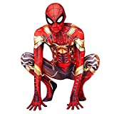 XNheadPS Iron Spiderman Masque Costume Cosplay Iron Man Bodys Enfants Adultes...