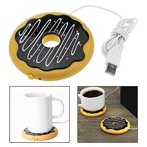 OFKPO Calienta Tazas USB Calentador, Cargador USB para la Oficina en...