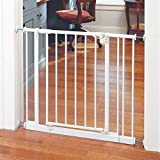 """Toddleroo by North States 38.5"""" Wide Easy Close Baby Gate:..."""