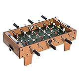 Homcom Table Baby-Foot pour Enfants à partir de 3 Ans 2 Ballons 18 Joueurs 69 x...