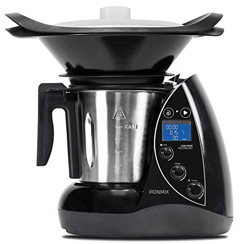 Cecotec Robot de Cocina Multifunción IronMix. Capacidad de 3,3l,...
