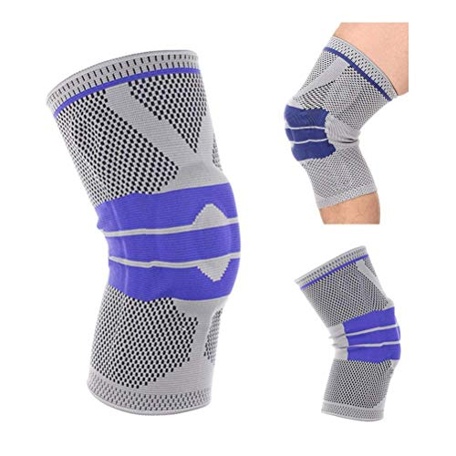 ASkyl Knee Support, Compression Sleeve Brace with Side Stablizer and Gel Pad Unisex for Joint Pain...