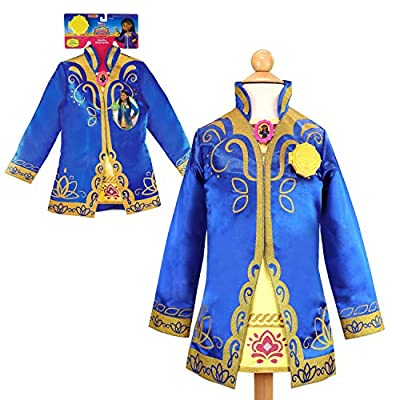 Get dressed for adventures with the Mira Detective Dress Up Set, inspired by Disney Junior Mira, Royal Detective. Fits sizes 4-6X. Detective coat features sparkly gold glitter details and Mira icon at the neckline. Removable Detective badge opens and...