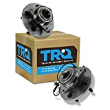 TRQ Front Wheel Hub & Bearing Set Pair for 06-08 Ram 1500 Truck