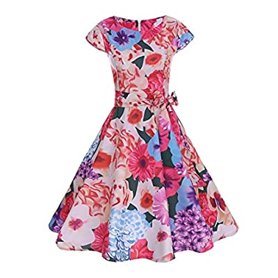 (=^∶^=)❤️The dress is elegant it self. It's simple but elegant and classy.The dress is really nice and feminine.If you are a little conservative type of person so dress like this always works for you. ---Women Summer Halter Deep V Neck Sexy Patchwork...