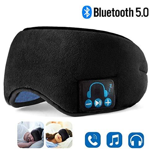 Sleep Headphones, Upgraded Sleep Eye Mask Bluetooth...