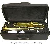 SKY Lightweight Case for Trumpet, Backpackable, Black
