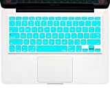 Kuzy - Teal / Turquoise HOT Blue Keyboard Silicone Cover Skin for Macbook / Macbook Pro 13' 15' 17' Aluminum Unibody (fits MacBook with or w/out Retina Display)