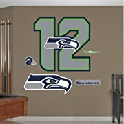 """Main product image size is 39""""W x 37""""H Ideal for decorating any room in the home or office; Safe for painted walls and other smooth surfaces! Just peel, stick and impress; It's that easy Thick high-grade vinyl resists tears, rips and fading; MADE IN ..."""