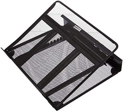 Amazon Basics - Soporte para portátil de altura ajustable con ventilación...