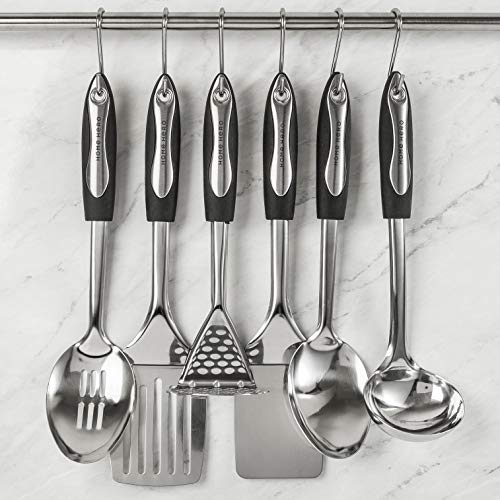 Product Image 7: Home Hero Stainless Steel Kitchen Cooking Utensils - 25 Piece Kitchen Utensil Set - <a href=