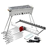 All-Inclusive-Edelstahl-Grillset LUX: Grill +...