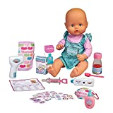 Nenuco - ¿Estás malito?, muñeco bebé con accesorios para ver si está...