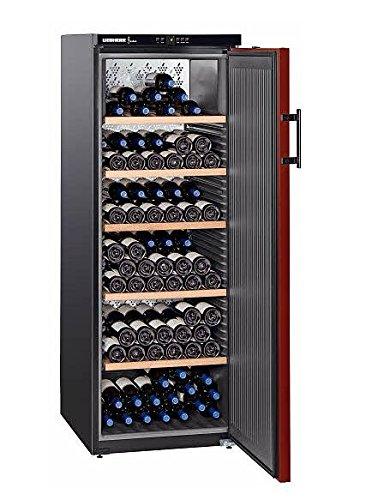Liebherr WKr 4211 Freestanding Black 200bottle(s) A+ wine cooler - Wine Coolers (Freestanding,...