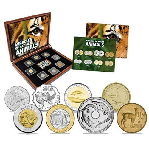 IMPACTO COLECCIONABLES Colección de Monedas Maravillas de l