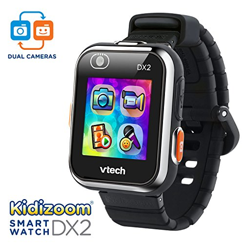 VTech KidiZoom Smartwatch DX2 Black (Amazon Exclusive), Great Gift For Kids, Toddlers, Toy for Boys and Girls, Ages 4, 5, 6, 7, 8, 9