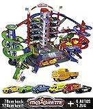 Majorette 212059989 Super City Garage Train motorisé pour Voitures avec...