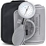Greater Goods Sphygmomanometer Manual Blood Pressure Monitor Kit, Includes Travel Case, Bulb, Cuff for Upper Arm Clinical Accuracy