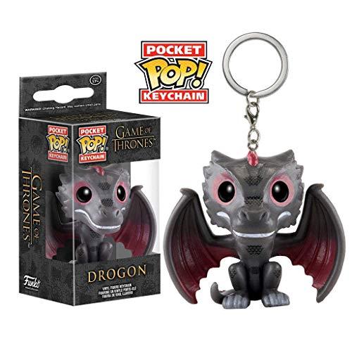 Funko - Porte Clé Game Of Thrones - Drogon Pocket Pop 4cm - 0849803101114