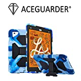 ACEGUARDER New iPad Mini 5 Case 2019, iPad Mini 4 Kids Case Soft Silicone Shockproof Durable with Adjustable Kickstand Protection Cover (Colorful Navy)
