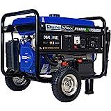 DuroMax XP5500EH Fuel Portable Generator, Blue/Black