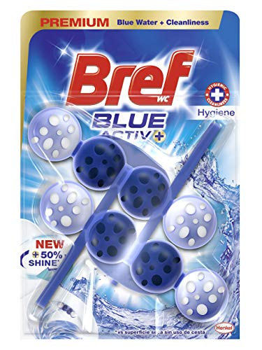 Bref Blue Active Higiene Duplo Colgador WC - 2 x 50 ml