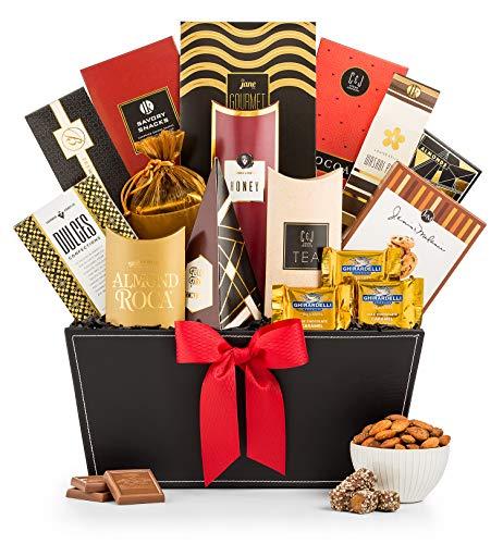 GiftTree Broadway Gourmet Gift Basket   Almond Roca,...