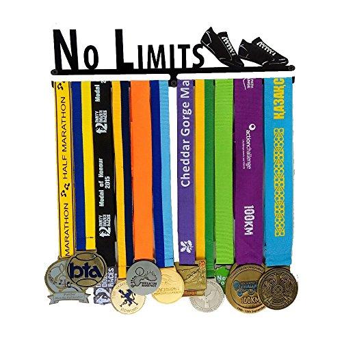 Desconocido Soporte de medallas Deportivas para Corredores, medallas, medallas, Expositor de medallas, para 12 medallas, para Maratón, Correr, Carrera, medallas Deportivas …