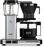 Technivorm Moccamaster KBG741 10-Cup/40oz Handmade Coffee Brewer, Polished Silver